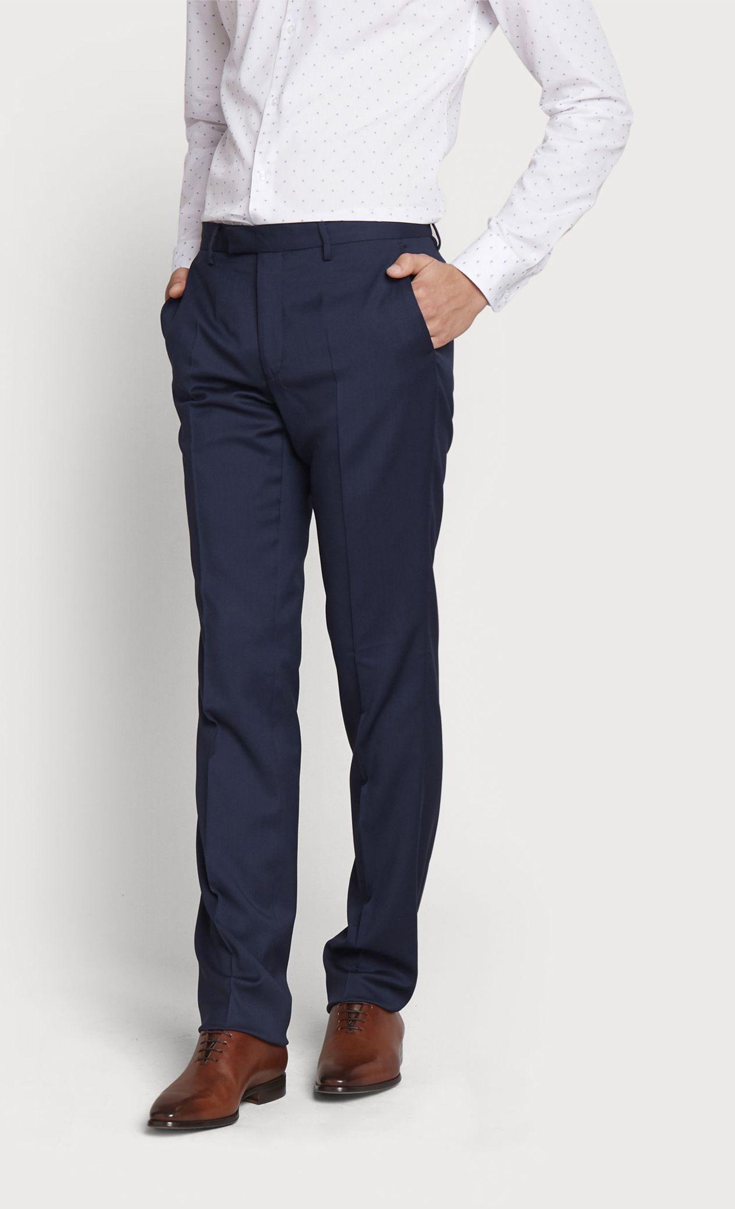 Ville Slim Pantalon Saphir Fit Bleu PXZuTiwOkl